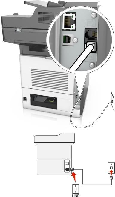 how do i setup a fax machine