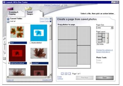 Εκτύπωση φωτογραφιών με χρήση