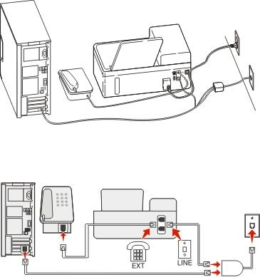 using fax machine voip