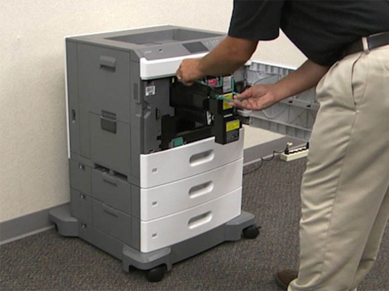 Remove all of the print cartridges