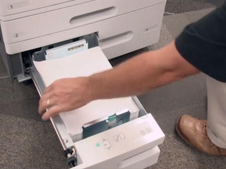 Retirer le papier coincé dans le bac3 du module Tandem (TTM)