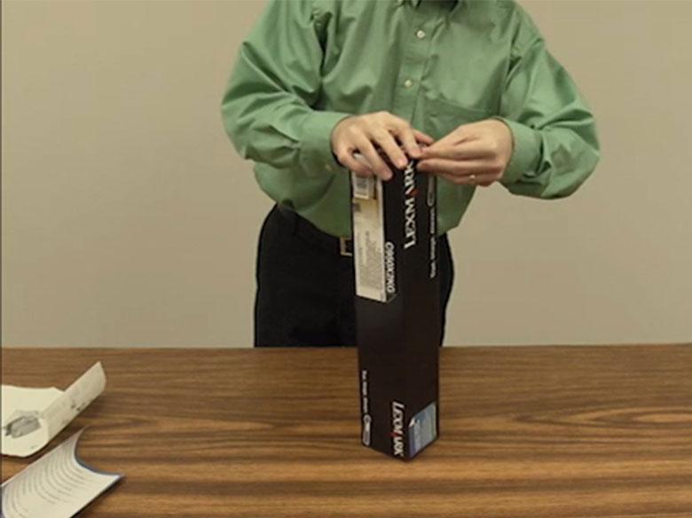 Reciclar el cartucho de tóner usado