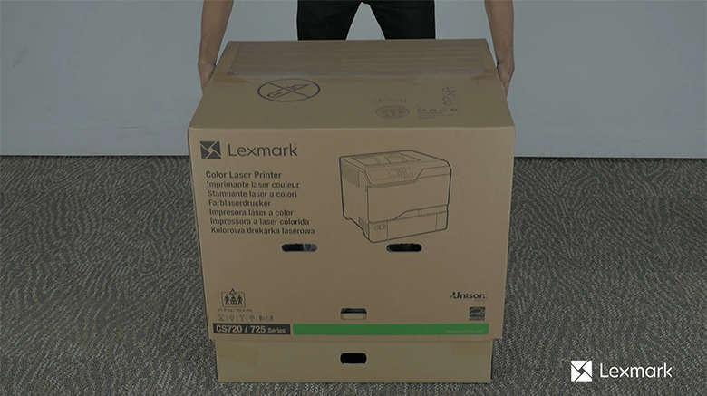 Unpack the printer