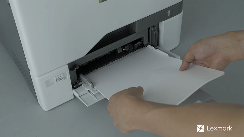 Load paper for one‑sided printing