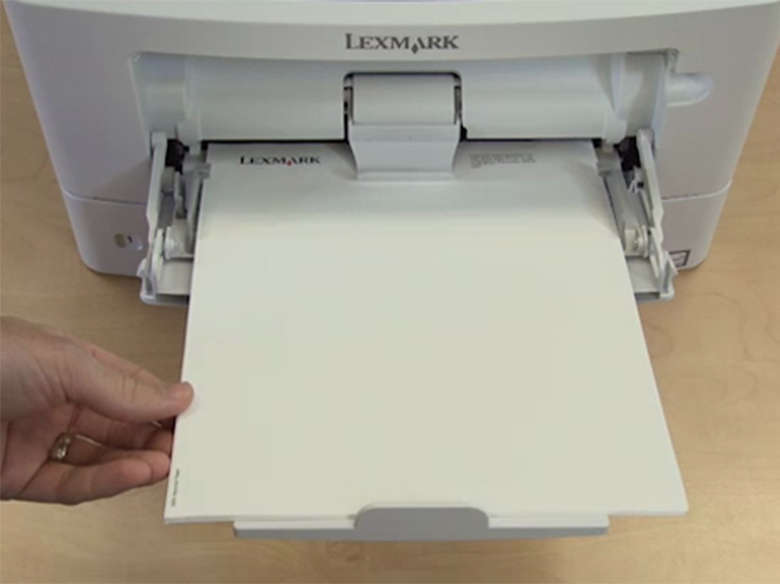 Single‑page printing on letterhead