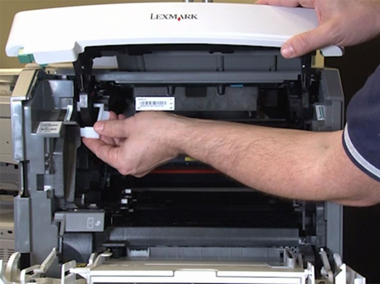 Instalar la herramienta de soporte de la cubierta superior