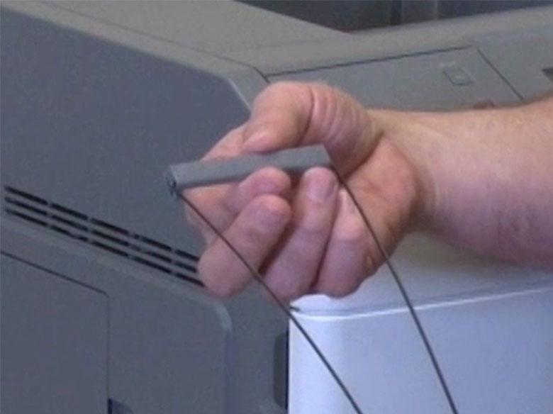 Fixer le presse-papier