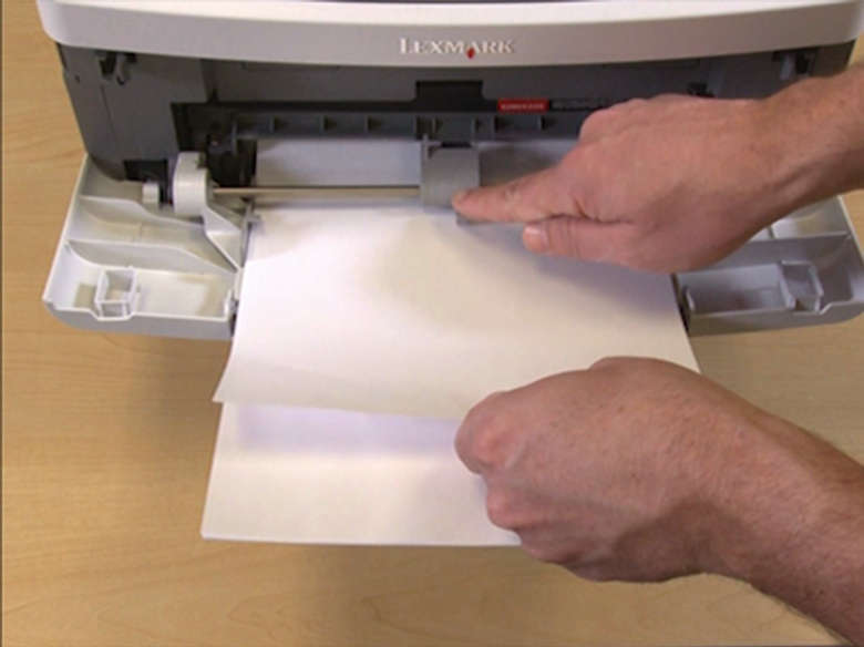 Remove jammed paper from the MPF