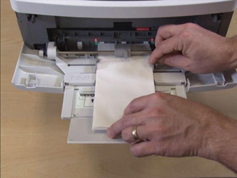 Imprimindo envelopes