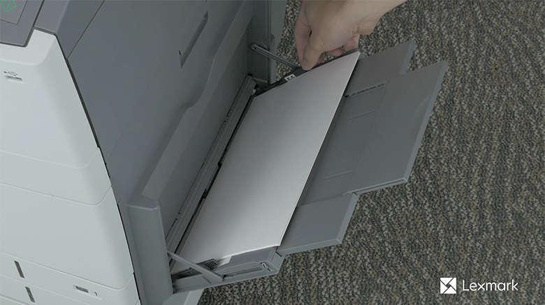 Load paper